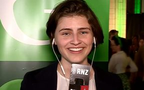 Chloe Swarbrick, 23, looks certain to go to Parliament.