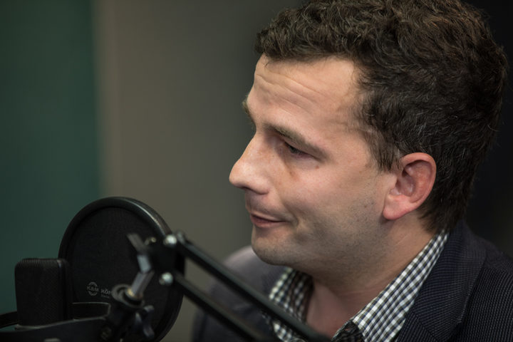 David Seymour in the RNZ Auckland studio.