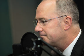 Labour Party campaign chair for the 2017 election Phil Twyford in the RNZ Auckland studio.
