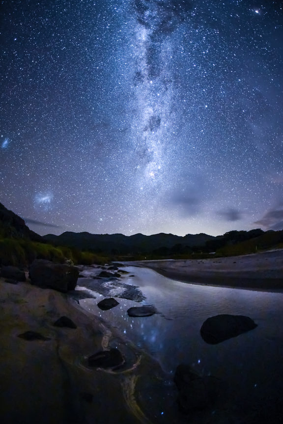 The Milky Way seen from Aotea/Great Barrier Island.