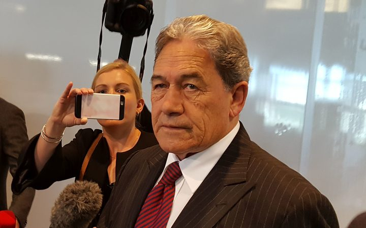 Winston Peters arrives at Wellington Airport, as he prepares to hold the first caucus meeting of his MPs after the election.