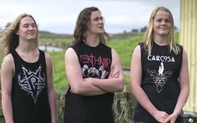 Māori teens behind thrash metal band signed by Berlin label