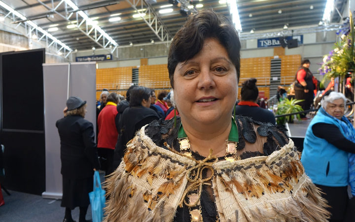 Māori Women's Welfare League president Prue Kapua.