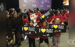 Heroine's welcome for Black Ferns' World Cup win