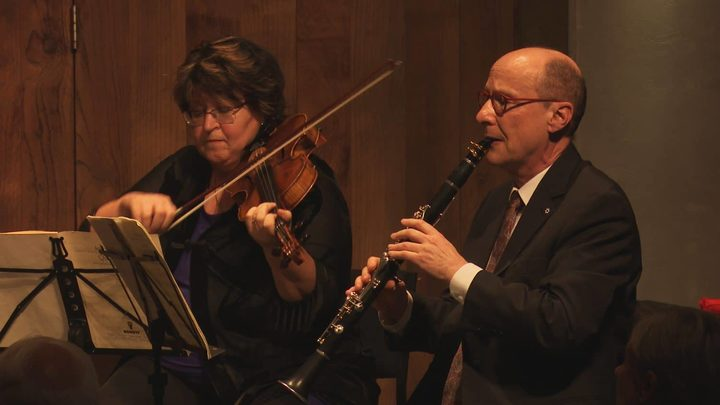 Irina Morozova of the Goldner Quartet and James Campbell