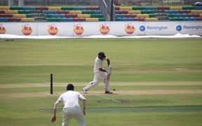 PNG batted through the first day against Scotland.