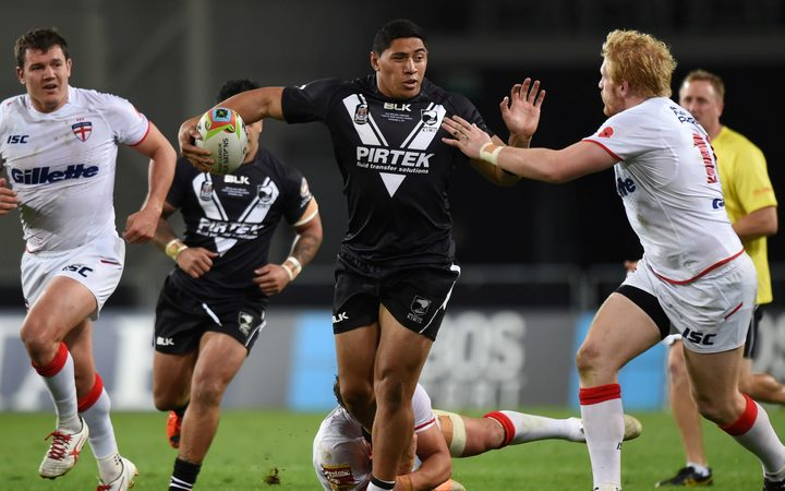 Jason Taumalolo in action