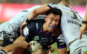 The Melbourne Storm's Nelson Asofa-Solomona is among five debutants in the Kiwis squad.