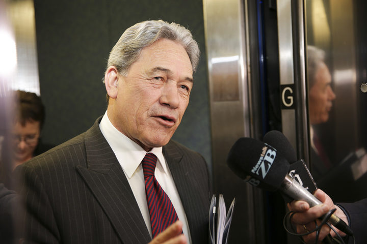 Winston Peters after NZ First/Labour meeting