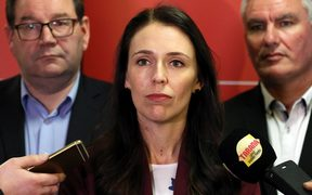 Labour Party leader Jacinda Ardern after the final election results were announced.