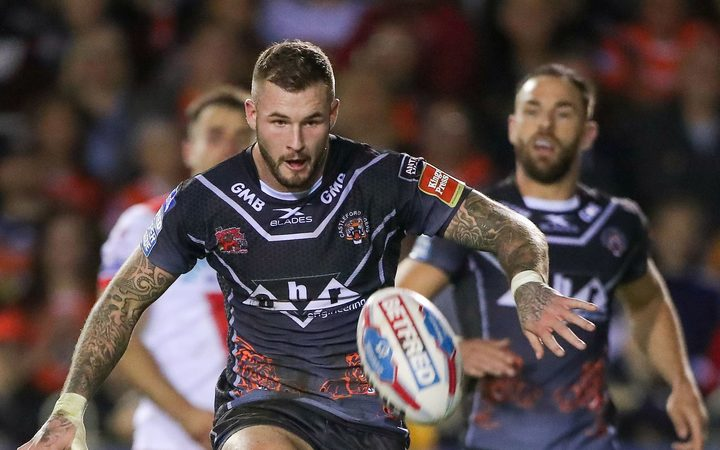 Rugby League - Castleford Tigers v St Helens - Castleford's Zak Hardaker in action.