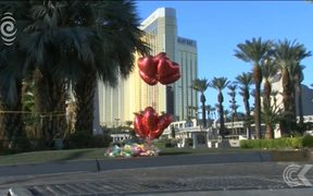Las Vegas gunman shot security guard before opening fire: RNZ Checkpoint