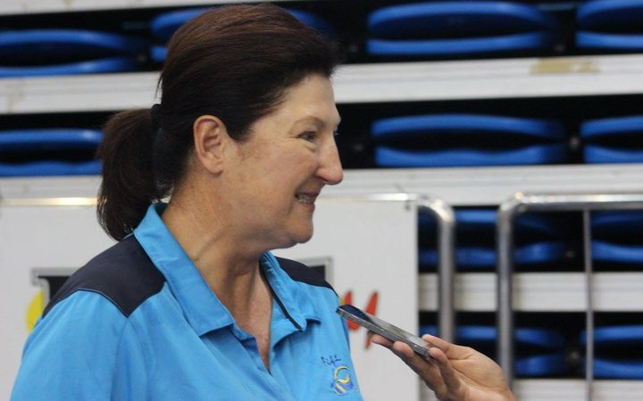 Fiji netball coach Vicki Wilson.