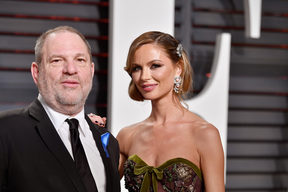Harvey Weinstein and Georgina Chapman in 2017.