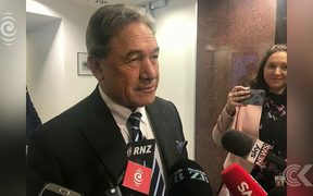 NZ First leader says huge progress made in coalition talks