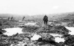Battling the elements — Mud and barbed wire during the Battle of Passchendaele