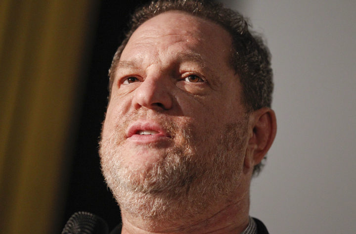 Film producer Harvey Weinstein