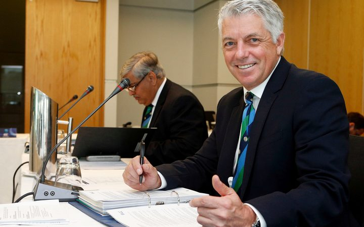 Dave Richardson, ICC, chief executive.