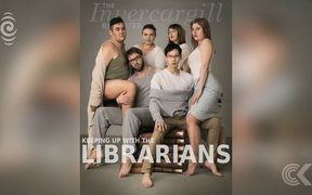 Invercargill library Kardashian photoshoot goes viral