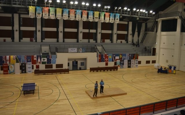 The indoor stadium at the Korman Complex in Port Vila.
