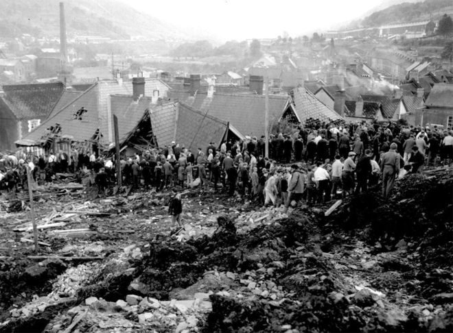 The Aberfan disaster.