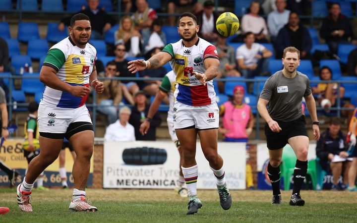 Rohan Saifoloi has been called up for Manu Samoa after impressing for the Sydney Rays.