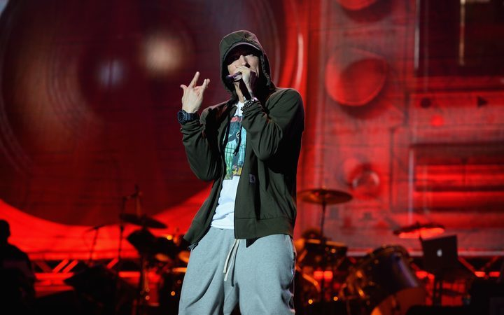 Eminem has won a copyright case against the National Party