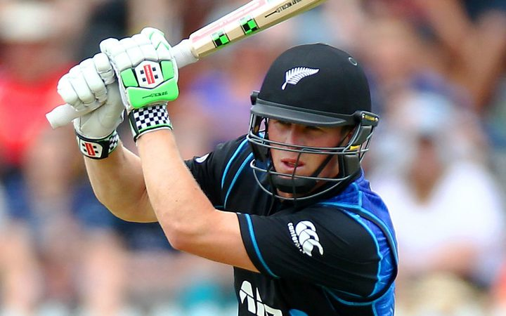 Henry Nicholls top scored for the Black Caps.