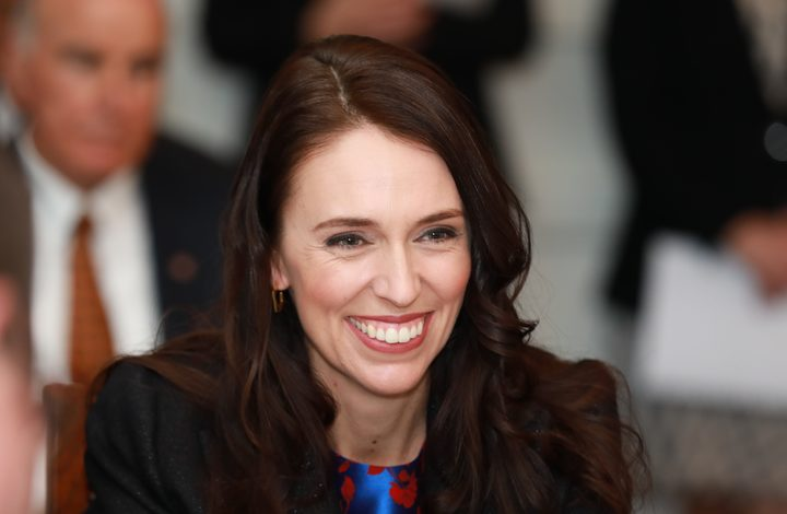 Jacinda Ardern is sworn in as Prime Minister of New Zealand.