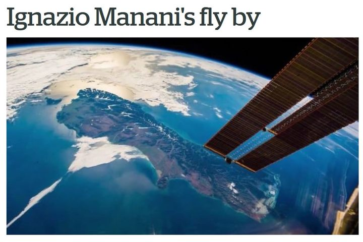 A Herald story which got it wrong about Ignazio Magnani - and spelled his name wrong too.