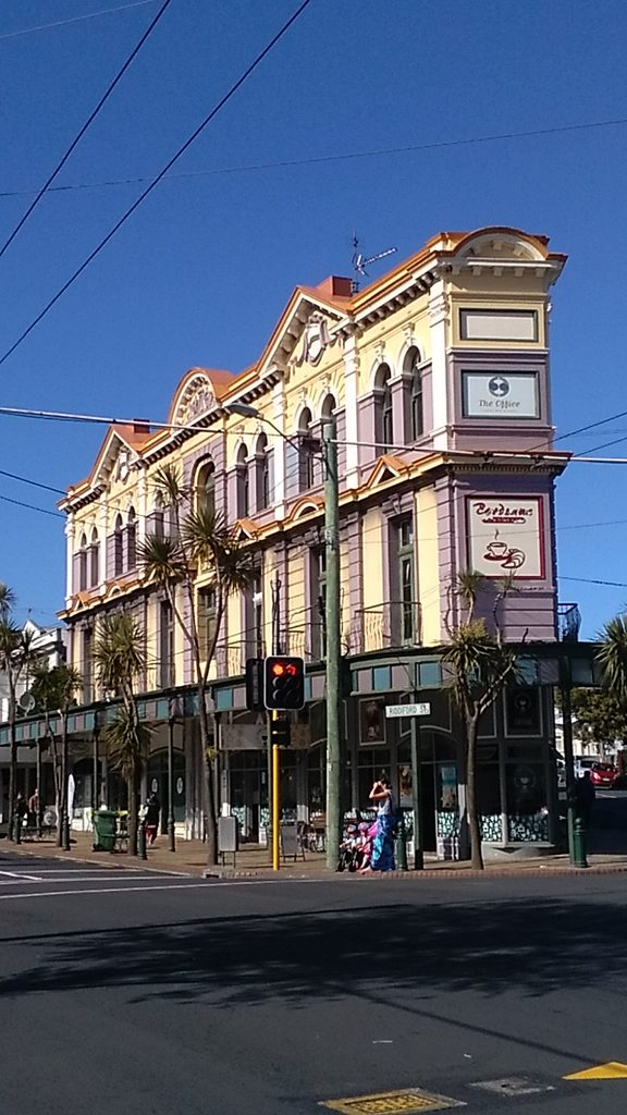 Owners of the heritage-listed Ashleigh Court Hotel in Newtown, Wellington are facing problems getting its facades fixed.