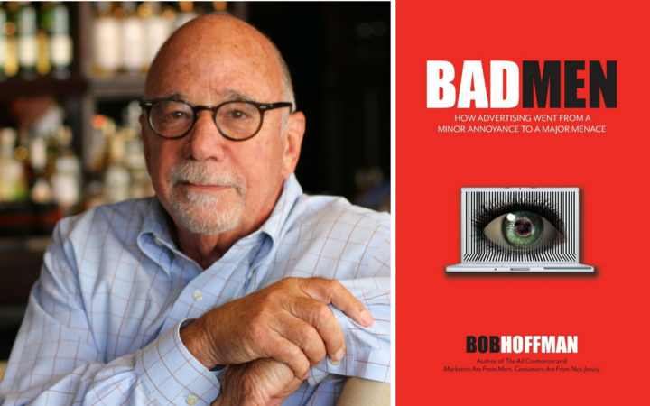 American author, speaker and advisor on advertising and marketing Bob Hoffman.