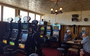 Waitara has a high density of pokie machines with 49 for a town with a population of about 6800.