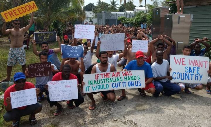 Ardern sees 'human face' of Manus Island refugees