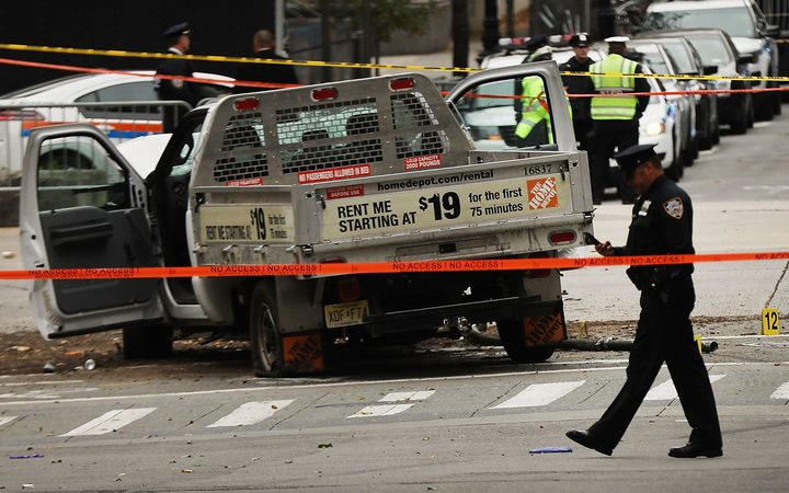 NY terror attack suspect pleads not guilty