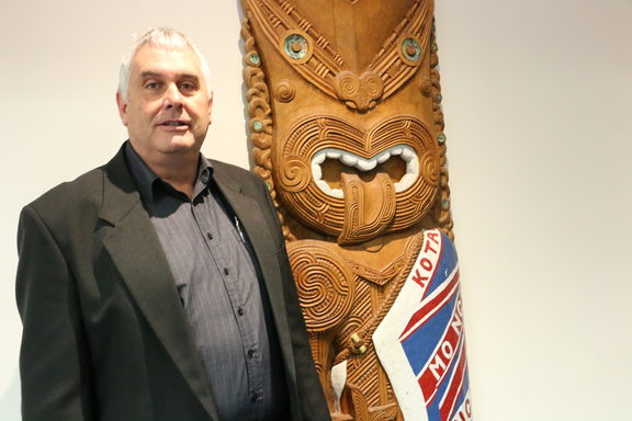 Kelvin Day is Tumuaki (head) of Puke Ariki Museum, New Plymouth.