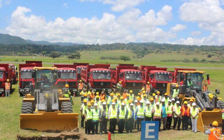 Rehabilitation work starts on Vanuatu airfield