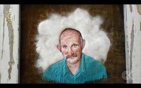 NZ woman creates portraits out of    cat fur: RNZ Checkpoint