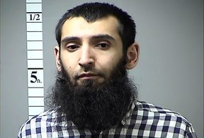 Sayfullo Habibullahevic Saipov, the suspectecd driver who killed eight people in New York.