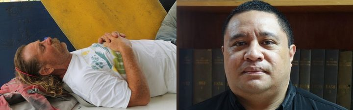 Dean Jay Fletcher was arrested in Pago Pago, (left). 'Aminiasi Kefu still wants him brought to Tonga to face the courts