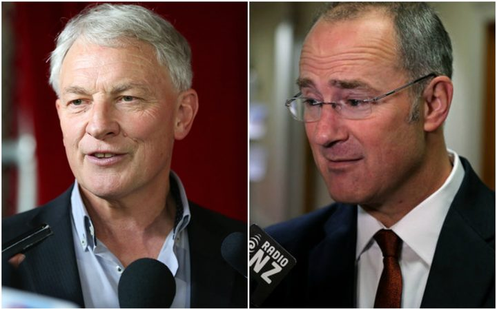 Auckland mayor Phil Goff and Housing Minister Phil Twyford