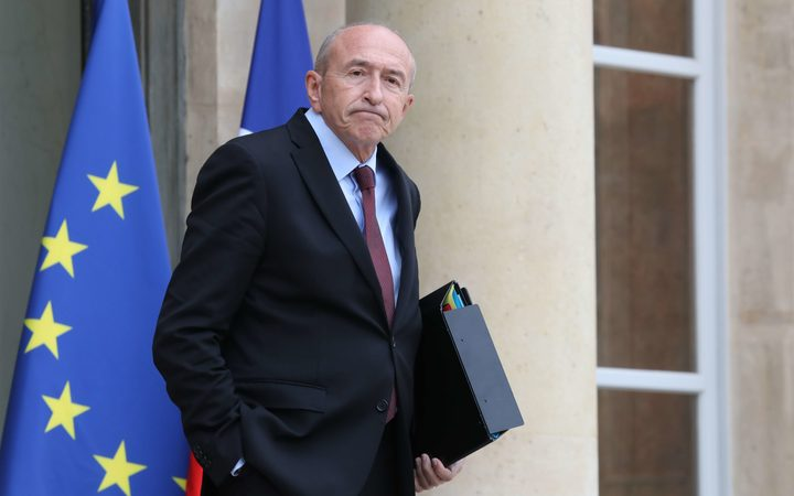 French Interior Minister Gerard Collomb met with leaders from New Caledonia last week.