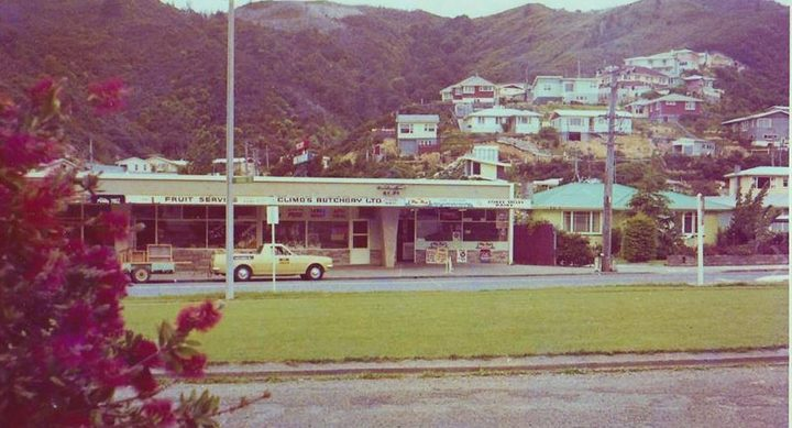 Stokes Valley Shops 1970