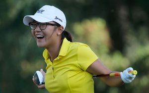 Lydia Ko at a tournament in Florida last year.