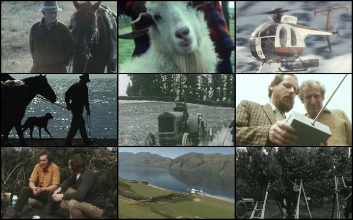 Screenshots from 50 years of Country Calendar.