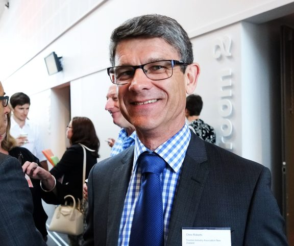 Tourism Industry Aotearoa, chief executive, Chris Roberts