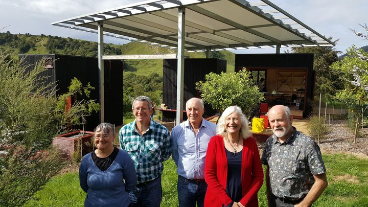 Carol and Steve Ring (left), James Guild (centre) and Dame Anne and Jeremy Salmond (right) all own land with significant conservation values that have been protected with QEII covenants.