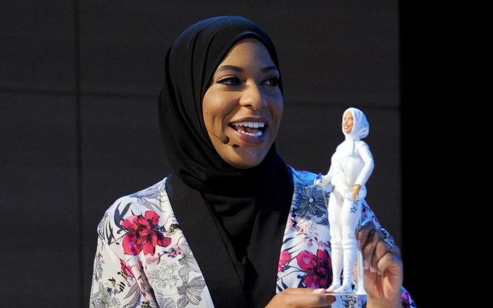 Hijab-wearing Barbie modelled on US Olympian Ibtihaj Muhammad