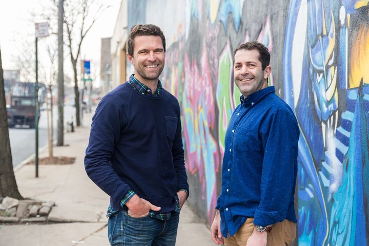 Allbirds founders Tim Brown (left) and Joey Zwillinger