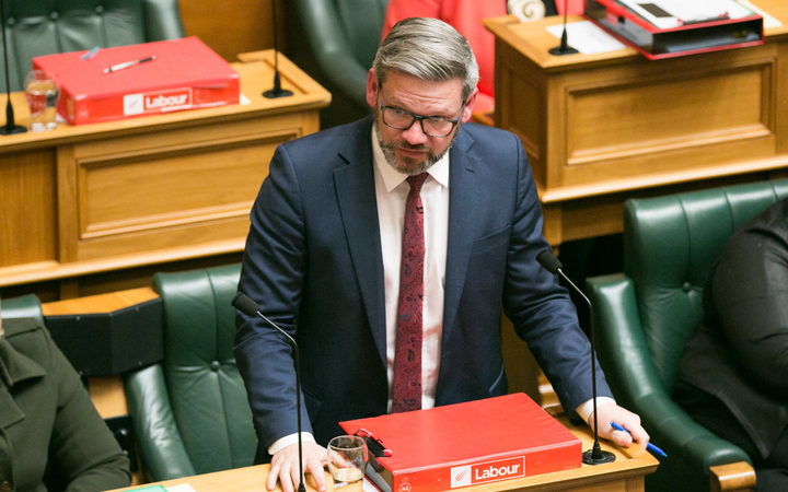 Workplace Relations Minister Iain Lees-Galloway